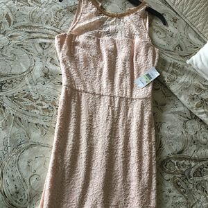 Jessica Simpson lace sheath dress